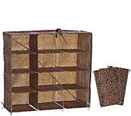 Pop-It Collapsible 12 Qube Organizer with Dividers - V34388