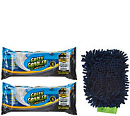 Green Gobbler Automotive Clean and Shine Towels_with Microfiber Mitt - V34589