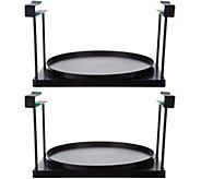 Set of 2 Cabinet and Pantry Shelf-Go-Round Organizers - V35089