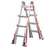 Little Giant 18-in-1 15 Ladder w/Wheel Kit & Work Platform - V31290