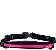 As Is Spibelt Expandable Spandex Stretch Belt w/ Carrying Pouch - V127191