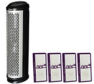 Holmes Air Purifier Tower with aer1 Allergen Filters - V33691