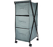 Design Accents 3-Bin Multi-Purpose Storage Drawer with Wheels - V33992