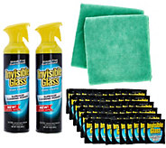 As Is Stoner Invisible Glass SuperSize 64 piece Home Cleaning Kit - V127193