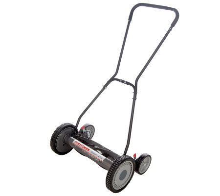 Craftsman 18-inch Trailing Wheel Reel Mower — QVC.com