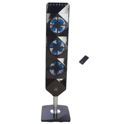Sharper Image Ultra Thin Flat Panel Tower Fan V30295