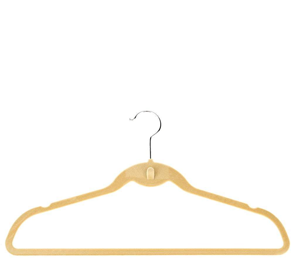 ClutterFree Set of 100 Space Saving Cascading Hangers - V33195
