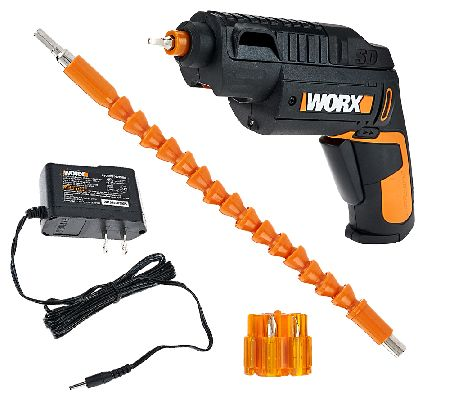 WORX 4-Volt Lithium-Ion Driver with Accessories