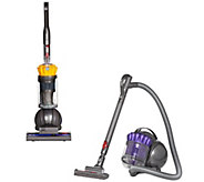 Choice of Dyson Ball Upright or Canister Vacuum with Tools - V34595