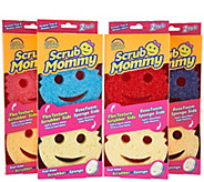 Scrub Mommy (8) Dual-Sided Multi-Colored Sponge Set by Scrub Daddy - V34695