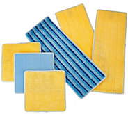 Duop Mop S/6 Multi-Surface Microfiber Replacement Pads - V34297