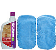 Rejuvenate 32oz. Floor Restorer w/2 Microfiber Mop Applicators - V34499