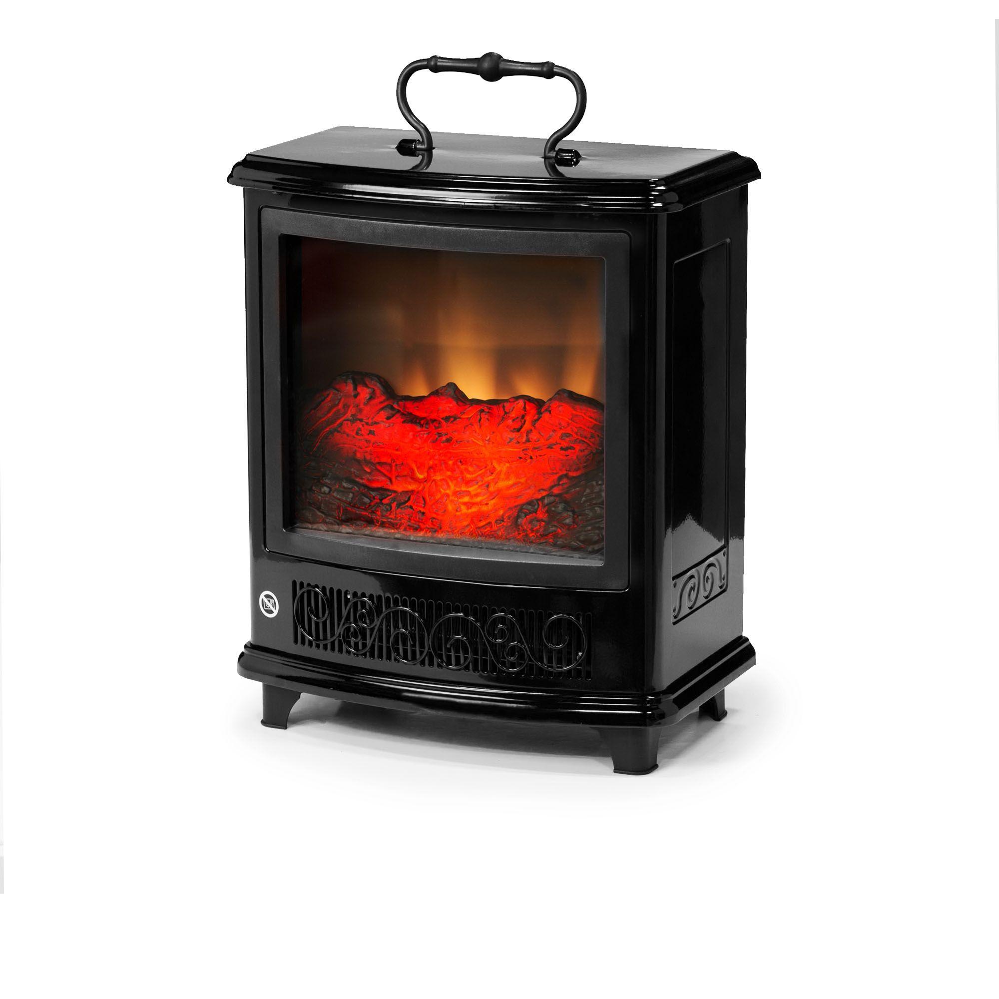 Stufa elettrica a infrarossi max 1800W 33x21x37cm PowerHeat Comparatore prezzi