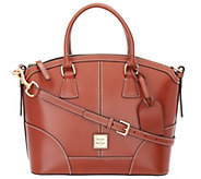 Dooney & Bourke Selleria Florentine Leather Domed Satchel - A255700