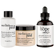 philosophy super-size peel & treat skincare duo - A269000
