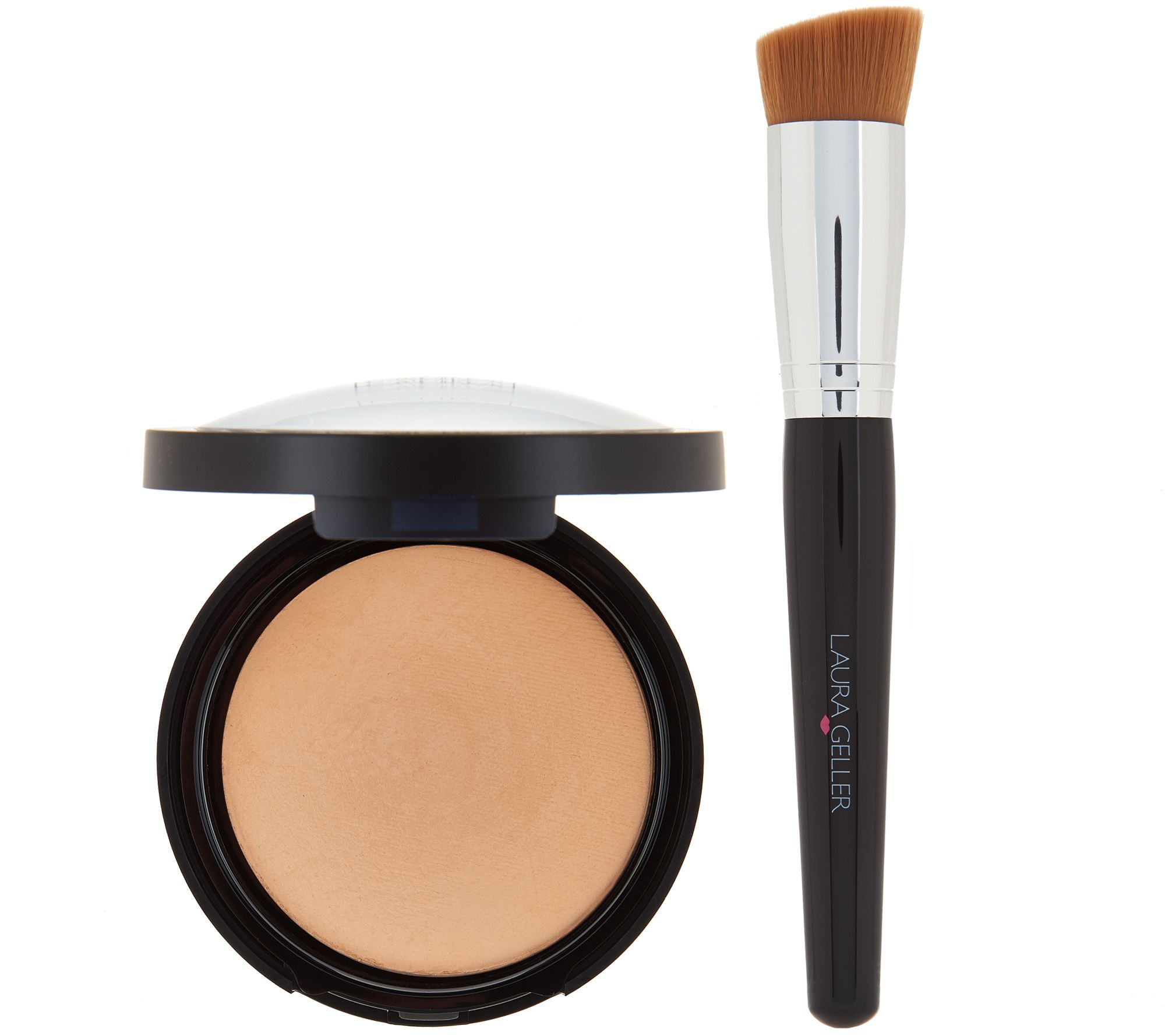 Double Take Baked Foundation with Brush
