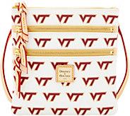 Dooney & Bourke NCAA Virginia Tech University Zip Crossbody - A283500