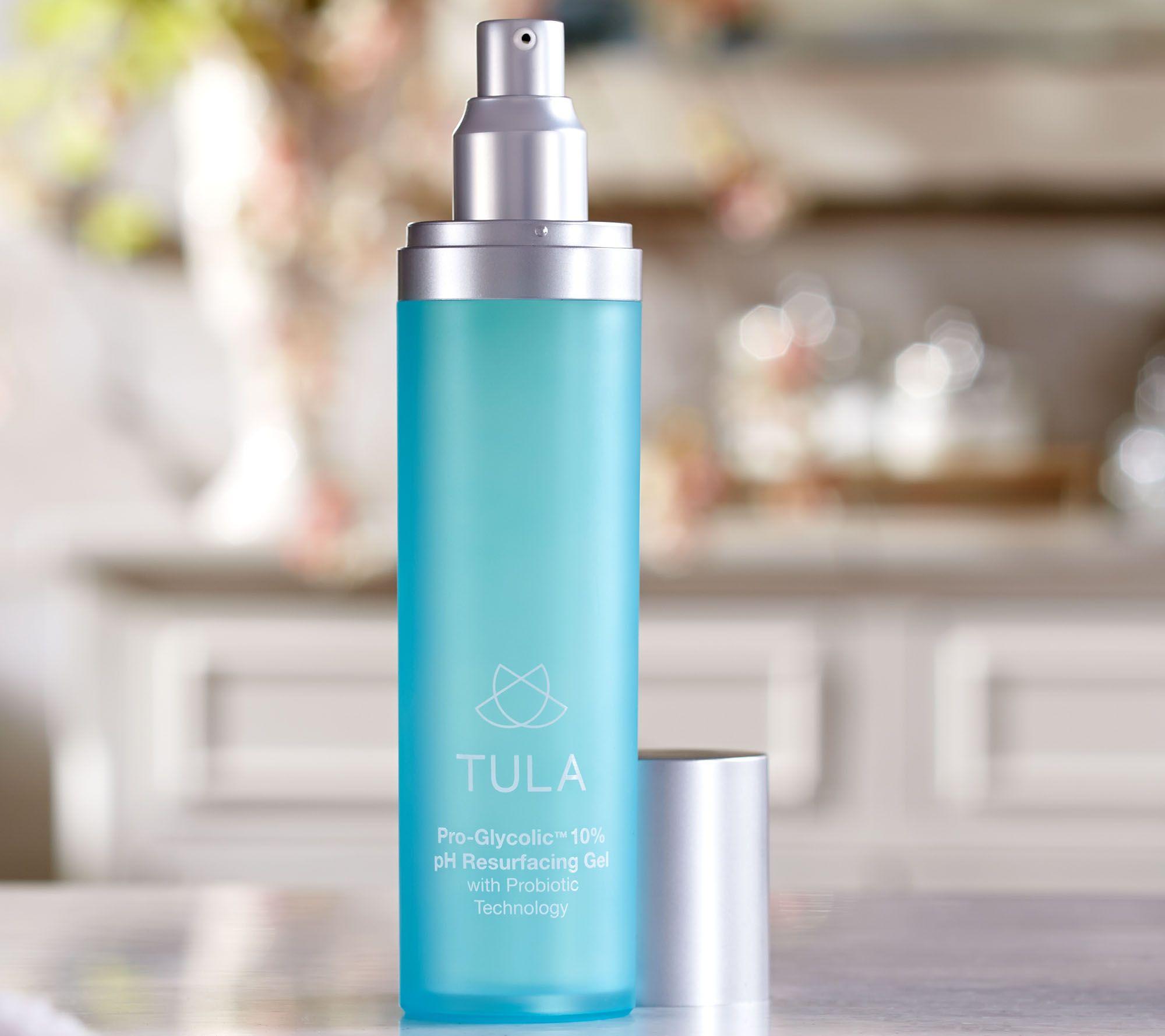 TULA Probiotic Skin Care Pro-Glycolic 10% pH Resurfacing Gel — QVC com
