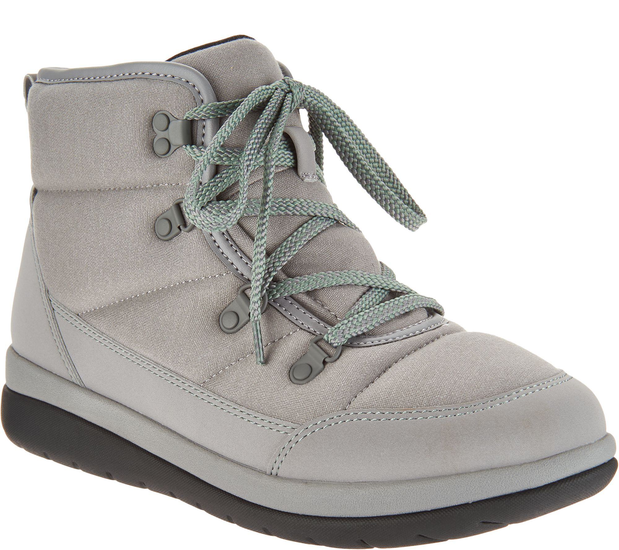 4b0e160597f CLOUDSTEPPERS by Clarks Lace-up Boots - Cabrini Cove - Page 1 — QVC.com