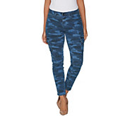 G.I.L.I. Regular Indigo Denim Cargo Jegging - A302100