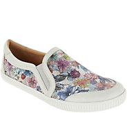 Earth Leather Slip-on Shoes - Currant - A304200