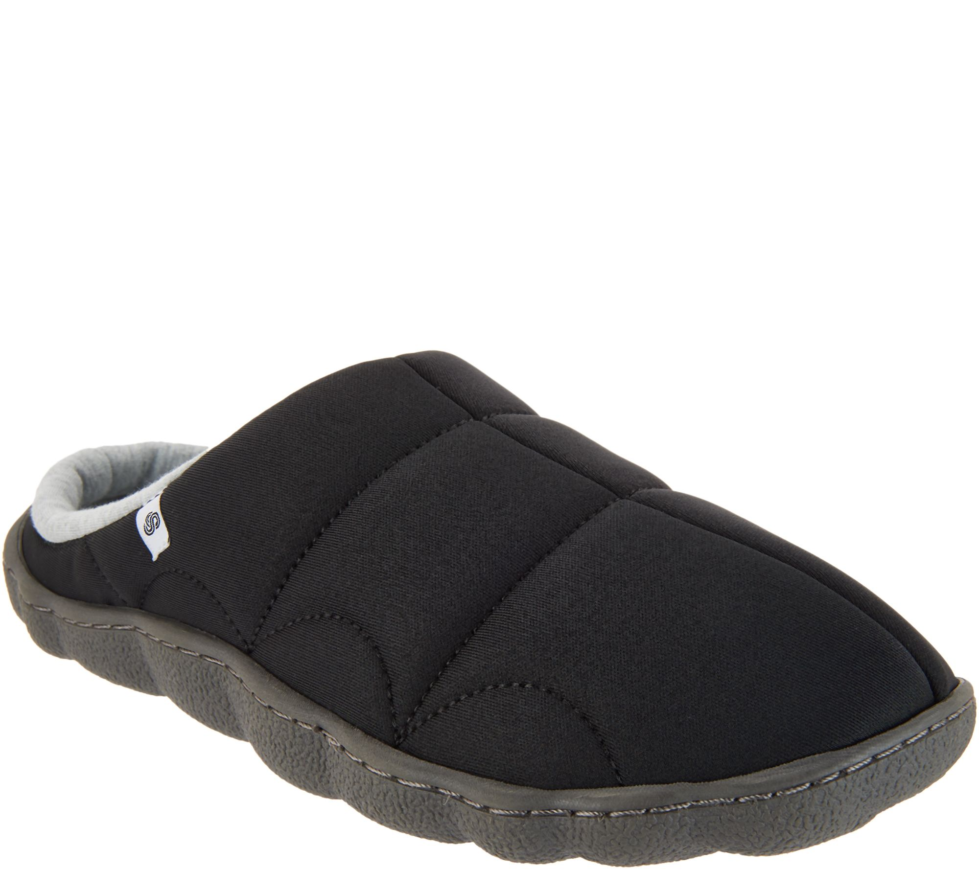 50272d434c7f CLOUDSTEPPERS by Clarks Jersey Slippers - Step Rest Clog - Page 1 — QVC.com