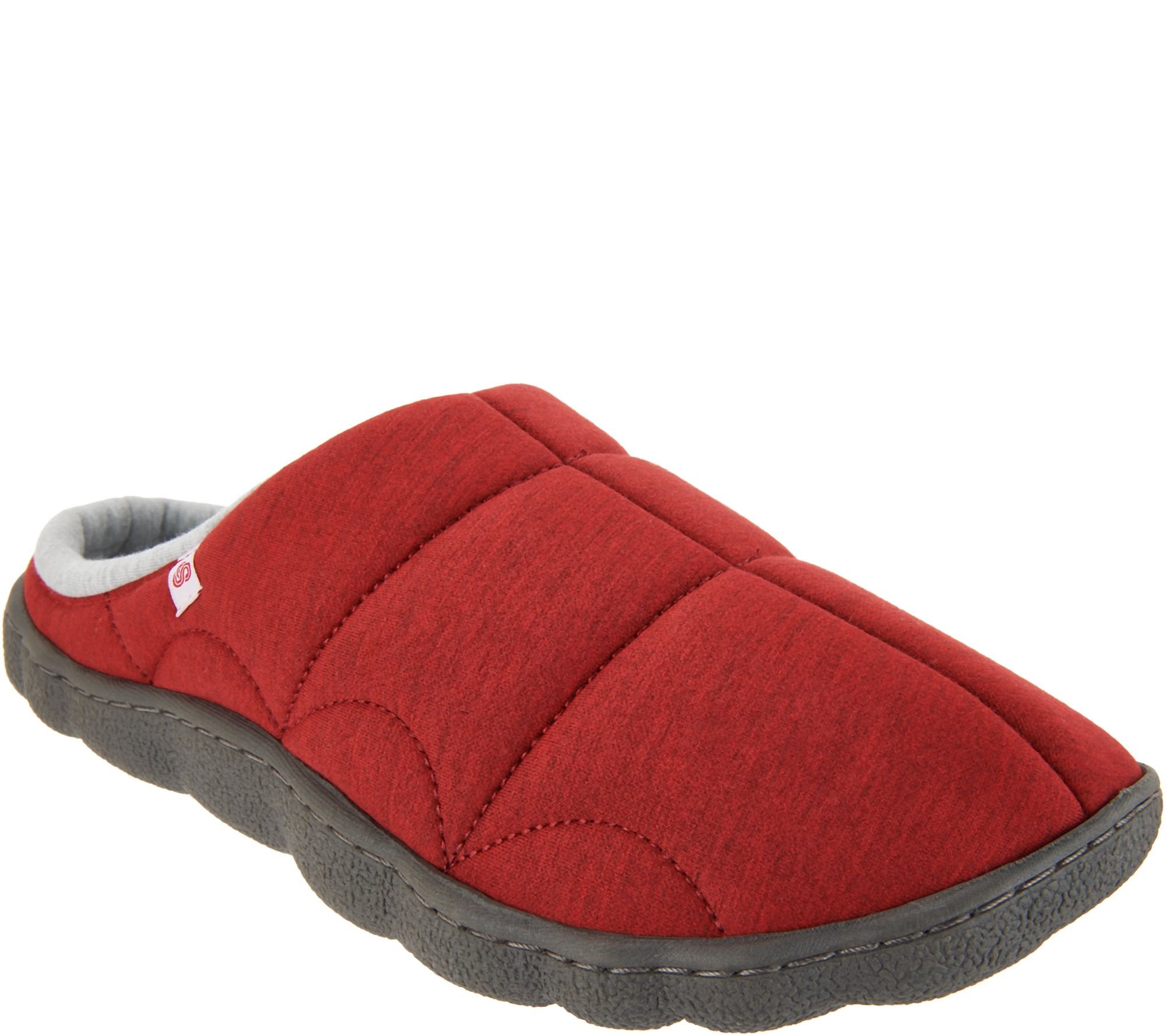 920235508eab5 CLOUDSTEPPERS by Clarks Jersey Slippers - Step Rest Clog - Page 1 — QVC.com