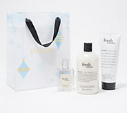 philosophy wrapped in fresh cream layering gift set - A387900