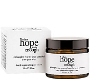 philosophy when hope is not enough eye cream 1oz - A272301