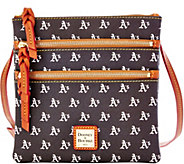 Dooney & Bourke MLB Athletics Triple Zip Crossbody - A280001