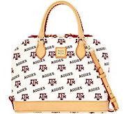 Dooney & Bourke NCAA Texas A&M University Zip Zip Satchel - A283201