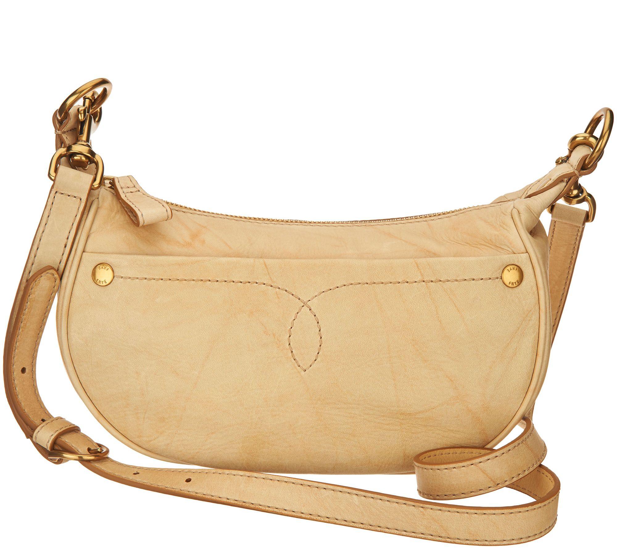 885d1706e4 Frye Leather Campus Small Rivet Crossbody Bag — QVC.com