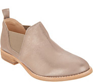 Clarks Leather Slip-on Booties - Edenvale Page - A341901