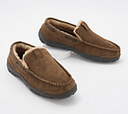 Clarks Suede Mens Venician Moccasin Slippers - A345001