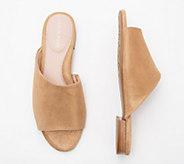 Taryn Rose Suede Slide Sandals - Vanessa - A352301