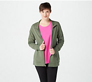 Denim & Co. Active French Terry Zip Front Jacket - A378201
