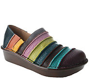 Spring Step Leather Slip-ons - Firefly - A242102