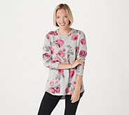 Denim & Co. Active Printed French Terry Tunic - A260202