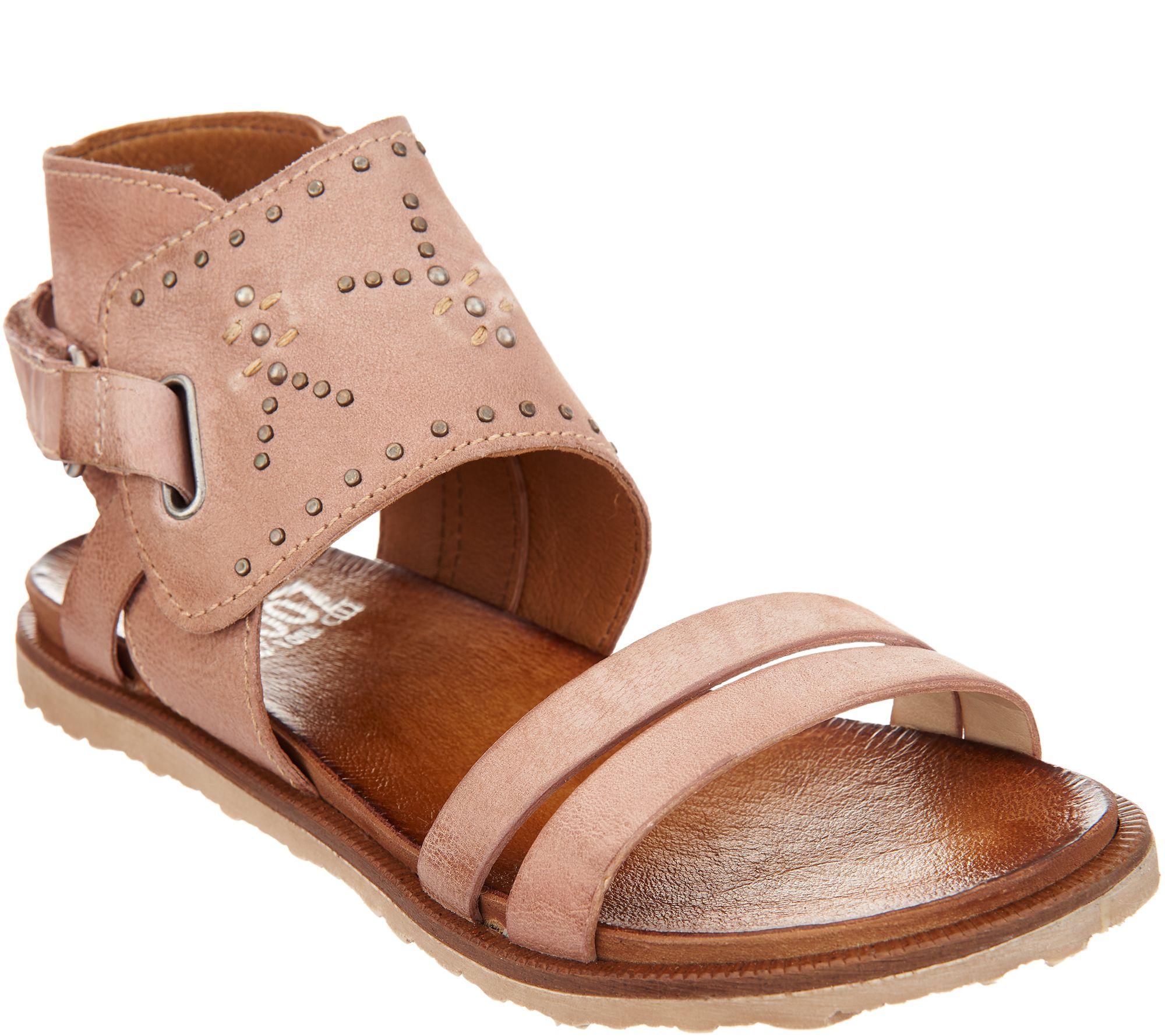 Miz Mooz Leather Sandals W Stud Details Tibby Page 1