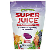 Garden Fresh Berry Flavored Super Juice Chews 60-Count - A309102