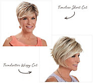Toni Brattin Choice of Two Wigs with Styleable Fiber - A341702
