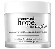 philosophy renewed hope moisturizer spf 30, 2 oz - A357802