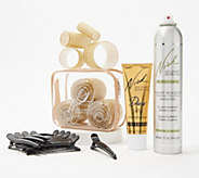 Nick Chavez 16-Piece Roller Set with Styling Products - A367902