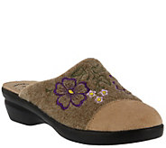 Flexus by Spring Step Textile & Wool Slippers -Woolie - A413802