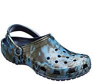 Crocs Mens Classic Kryptek Neptune Clogs - A423502