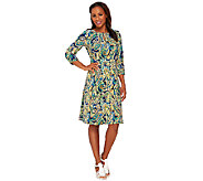 Liz Claiborne New York Heritage Collection Crepe Dress - A267303