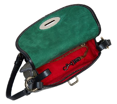 Dooney Bourke Verona Leather Cristina Crossbody Bag Page 1 Qvccom