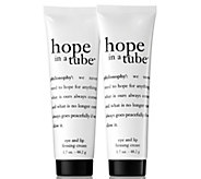 philosophy super-size hope in a tube eye & lip cream duo - A288703