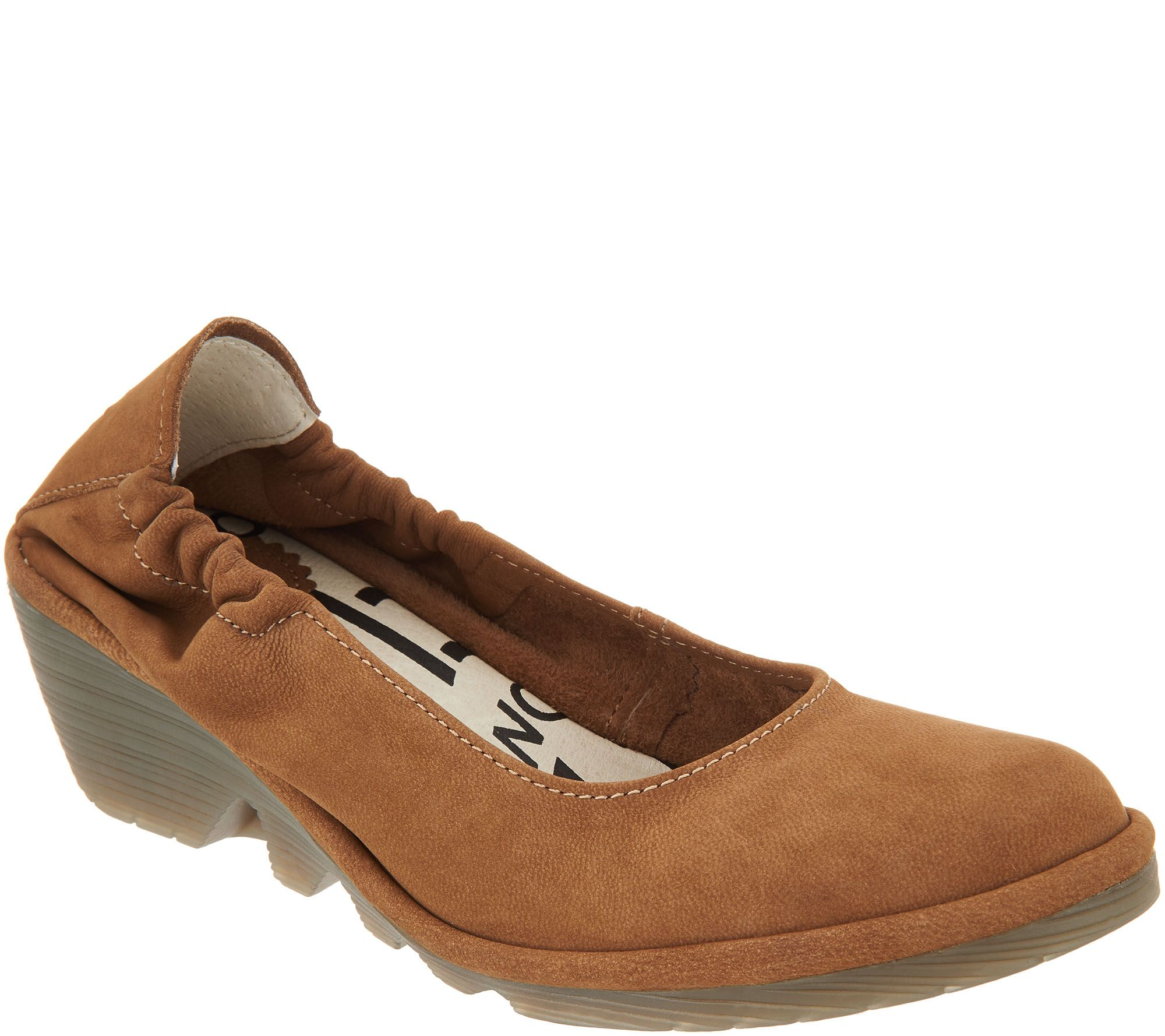free shipping purchase cheap sale collections FLY London Leather Low Wedge Pumps - Pled clearance pay with visa popular online where to buy cheap real 72nzN7wuP