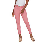 Laurie Felt Power Silky Vibrant Denim Pull-On Jeans - A310003